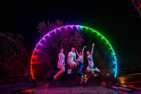 9 instalații interactive de admirat sâmbătă seara la Centrul de cultură urbană Casino