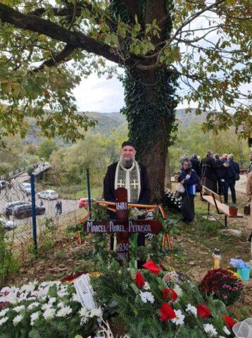 Poza Zilei: Mormântul lui Marcel Petrișor, martir anticomunist