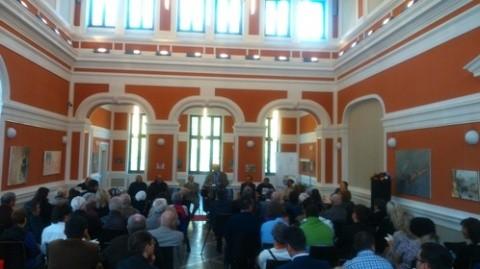 Lansare de carte. Poeţii Marcel Mureşeanu şi Dumitru Cerna au construit un pod al poeziei clujene