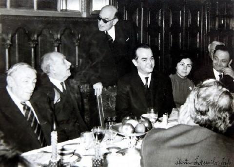 Inedit: Radu Gyr la aniversarea academicianului Nichifor CRAINIC, 23 decembrie 1969 (Audio)