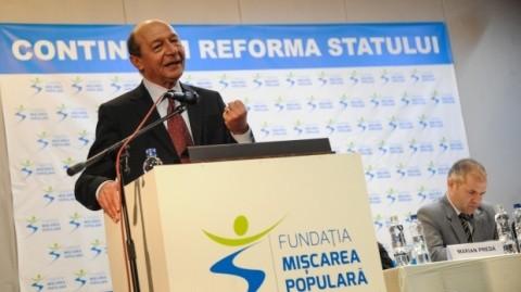 S-a sucit Băsescu