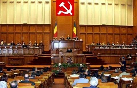 Despre oameni, omuleți și statui. Incursiune în Parlamentul României