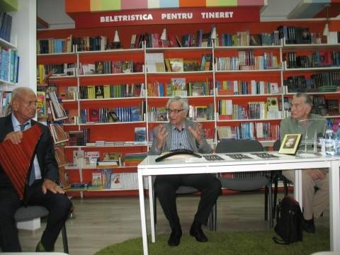 """Lansarea cărţii lui Grid Modorcea: Festivalul """"Gheorghe Zamfir"""" sau Sunetul primordial"""