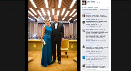"""Românii pe Facebook: """"Klaus Iohannis se află într-o scurtă vizită în România"""""""