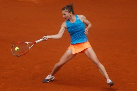Simona e în semifinale