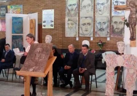 Spini în calea îngerilor! 4 portrete de sfinţi scoase dintr-o expoziție: Mircea Vulcănescu, Radu Gyr, Valeriu Gafencu şi Costache Oprişan