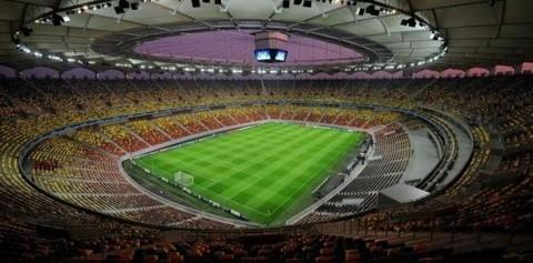 Arena Naţională se redeschide înaintea amicalului cu Spania