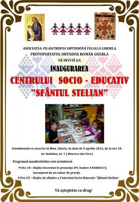 """Inaugurarea Centrului socio-educativ """"Sfântul Stelian"""" de la Gherla"""