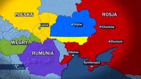 Analiză la Kiev: Polonia anexează economic Ucraina de Vest. Ungaria și România au pretenții teritoriale
