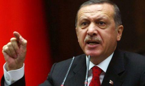 Preşedintele turc Recep Tayyip Erdogan acuză arbitrii români de rasism