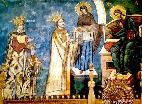 Hramul mănăstirii închinate domnitorului Petru Rareș din Arhiepiscopia Clujului
