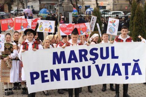 Marșul pentru Viață a primit binecuvantarea Sfântului Sinod al BOR