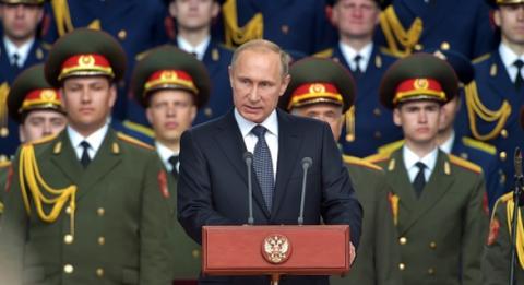 Vladimir Putin avertizează că monitorizează atent o navă militară a SUA, în Marea Neagră