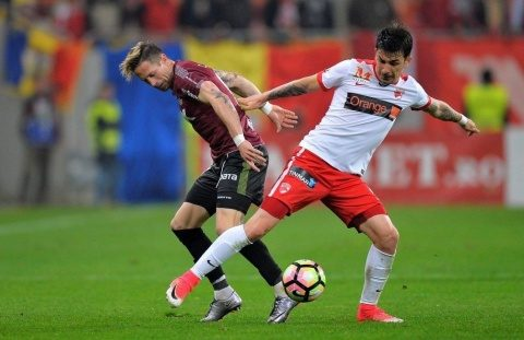 Dinamo a zdrobit CFR la Cluj. Oficial FCSB acuză