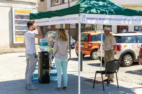 Primăria Cluj-Napoca recomandă cetățenilor să respecte o serie de măsuri, pe canicula