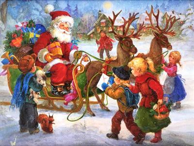Poemul Zilei: A venit Moș Crăciun!
