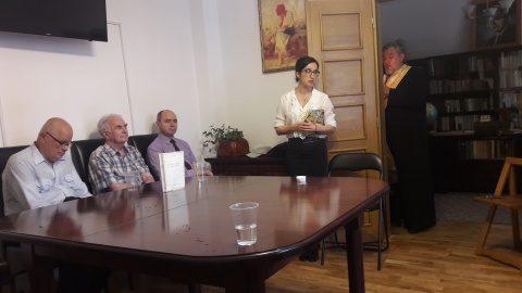 """Muzeul Memorial """"David Prodan"""" a organizat primul eveniment cultural din seria """"Întâlnirile David Prodan"""""""