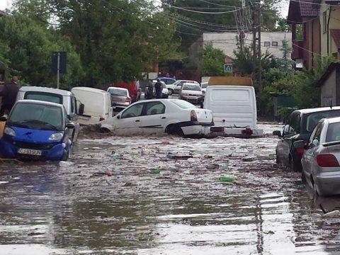 25 de milioane lei județului Cluj pentru îndepărtarea cât mai rapidă a efectelor inundațiilor