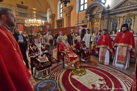 Mitropolitul Clujului, în mijlocul comunității ortodoxe sârbe din Budapesta