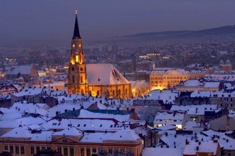 Poemul Zilei: Ninsoare a la Cluj
