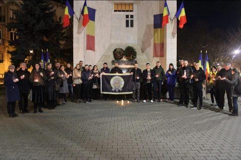 """""""Marșul Tăcerii"""" pentru eroii anticomuniști la Cluj-Napoca"""