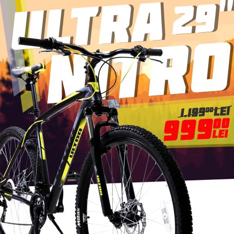 Doar 999 lei bicicleta mtb 29″ – cel mai bun pret din Romania daca o cumperi de pe Click4sport.ro