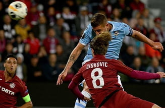 """Bogdan Mara (CFR): """"Suntem dezamăgiţi după acest meci, după ceea ce s-a întâmplat la faza golului"""""""