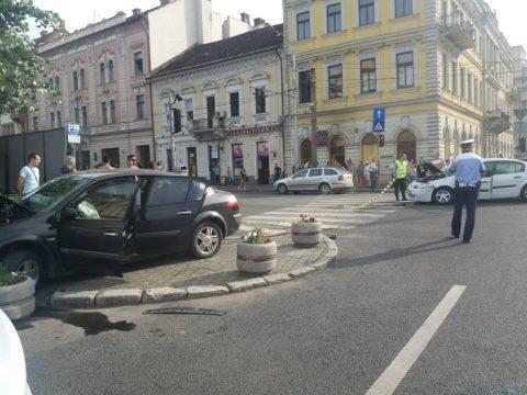 Patru persoane, între care un pieton, au fost rănite, sâmbătă, 31 august în Cluj-Napoca