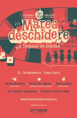 Târgul de Crăciun din Cluj Napoca se află anul acesta sub semnul jocului și a veseliei