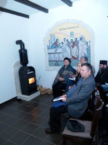 Ceneclu literar la o mănăstire din Munții Apuseni
