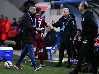 "Dan Petrescu dupa victoria lui CFR Cluj în derbiul cu Craiova: ""Muncim ca proștii si ni se iau punctele"""