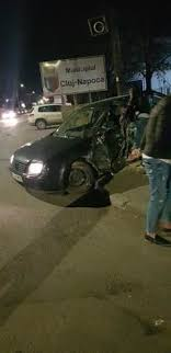 Accident grav în această seară la Cluj. Doi minori au fost acroșați
