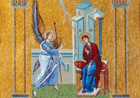 Azi e sărbătoarea Buna Vesitire: Vestea cea bună şi ziua dăruirii totale a Fecioarei