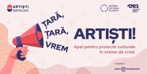 """""""Artiști Împreună"""" clujeni în luptă cu pandemia Covid 19"""