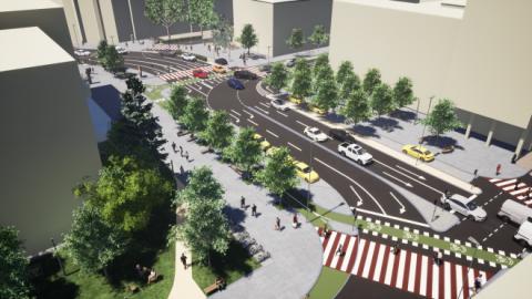 Cum va arăta Piața Lucian Blaga după modernizare? De vis