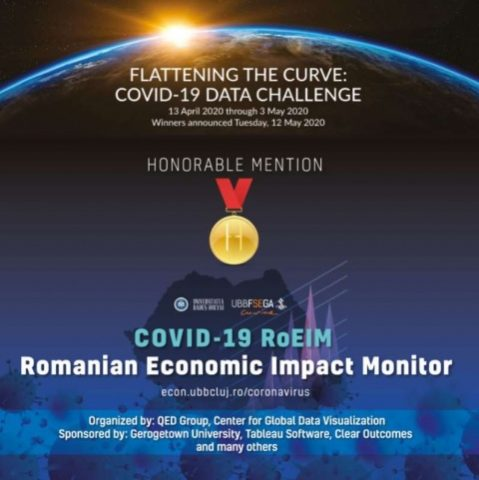 """Proiectul de cercetare """"COVID-19 RoEIM"""" dezvoltat de UBB premiat internațional"""