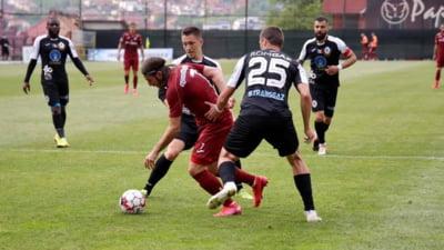 CFR Cluj a invins la Botosani cu 2-0