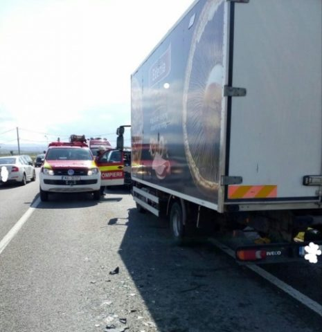 Accident produs pe varianta ocolitoare Cluj-Napoca – Apahida