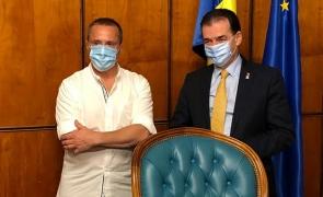 Orban l-a binecuvântat pe Claudiu Bleonț să devină primar de Beliș