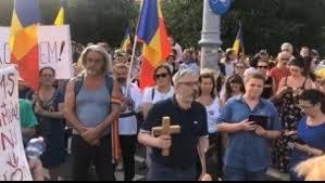 Protest nou împotriva legii carantinării