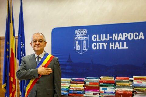 Primarul Emil Boc le-a mulțumit clujenilor pentru votul masiv