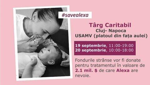 Târg caritabil la Universitatea de Științe Agricole și Medicină Veterinară din Cluj-Napoca