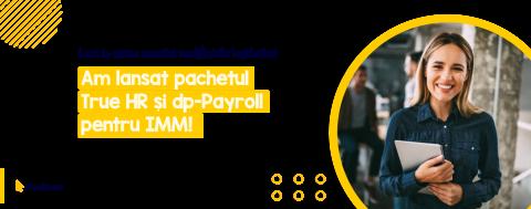 Soluțiile dp-Payroll și True HR sunt acum disponibile și pentru IMM-uri