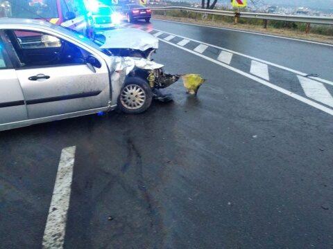 Femeie de 31 de ani din Cluj-Napoca a pierdut controlul autoturismului pe care îl conducea