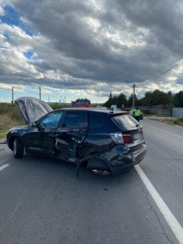 Accident la Jucu