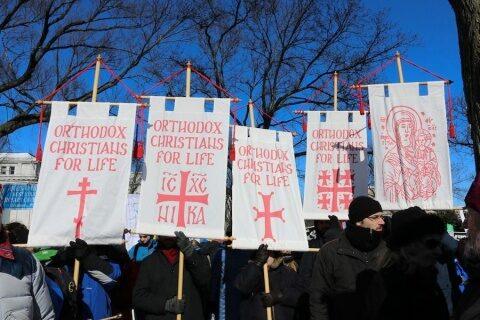 Creștinii ortodocși din America participă la Marșul pentru viață 2021 de la Washington
