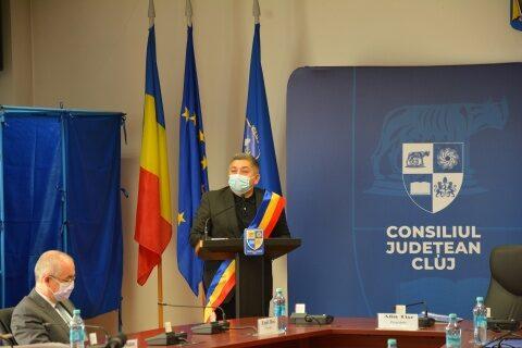 S-a constituit Consiliul Județean Cluj. Aleșii au depus jurământul