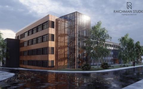 """Noul corp de clădire al Școlii Gimnaziale """"Iuliu Hațieganu"""" va fi ultramodern"""