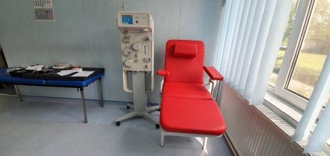 Aparat de plasmafereză donat Centrului de Transfuzie Sanguină Cluj