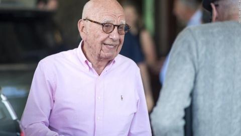 """Rupert Murdoch, proprietarul News Corp. şi Fox Corporation, a denunţat """"cenzura"""" mass-mediei din partea rețelelor sociale"""